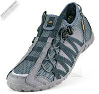 Кроссовки светло-серые без шнурков «BONA»