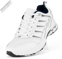 Белые кроссовки с мехом «Bona»