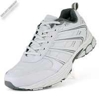 Светло-серые кроссовки с мехом «Bona»