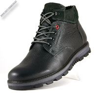 Зимние кожаные ботинки «Baratto»
