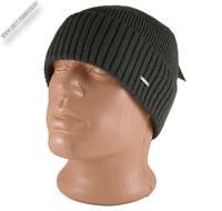 Серая вязаная шапка «KONSTANT»
