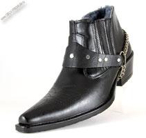 Зимние ковбойские ботинки «Kazachok»