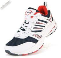 Бело-черные кроссовки «Bona»