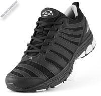 Кроссовки черные в сетку «Bona»