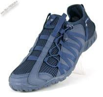 Синие кроссовки в сетку без шнурков «BONA»