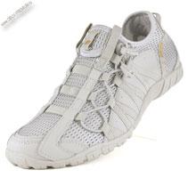 Светлые кроссовки без шнурков «BONA»
