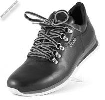 Черные кроссовки  кожаные