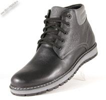 Зимние черные ботинки «Mallaev»