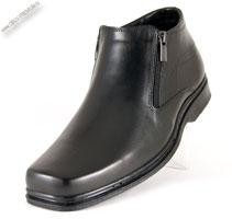 Осенние кожаные ботинки  на замках «Dimar»