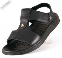 Кожаные сандалии-шлепанцы «Kraus»
