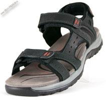 Спортивные сандалии кожаные