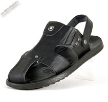 Шлепанцы-сандалии с закрытым носком