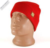 Вязаная шапка с ушками