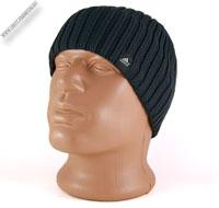 Вязаная шапка серого цвета