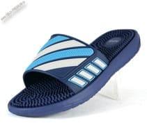 Шлепанцы массажные синие «Alfox»