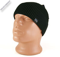 Вязаная шапка черного цвета «WAG»