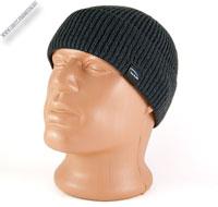 Серая вязаная шапка «WAG»