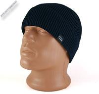 Вязаная шапка синего цвета «Wag»