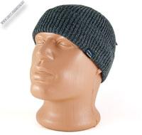 Вязаная шапка светло-серая «Wag»