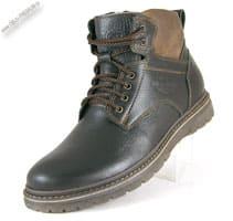 Зимние коричневые ботинки «Шах»