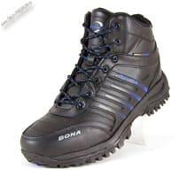 Черные зимние кроссовки «Bona»