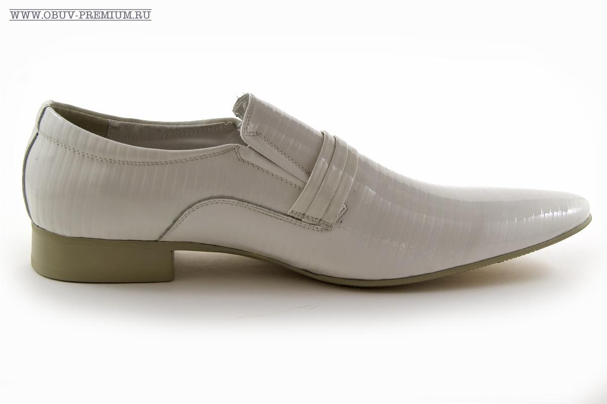 Лакированные туфли мужские бордовые
